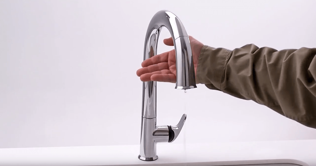 what is a touchless kitchen faucet
