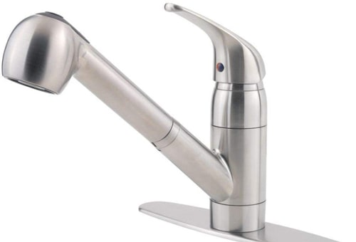 Pfister Pfirst Series Pull-Out Kitchen Faucet (G133-10SS)