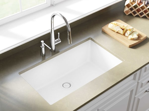 Elkay Quartz Classic ELGRU13322WH0 Undermount Sink