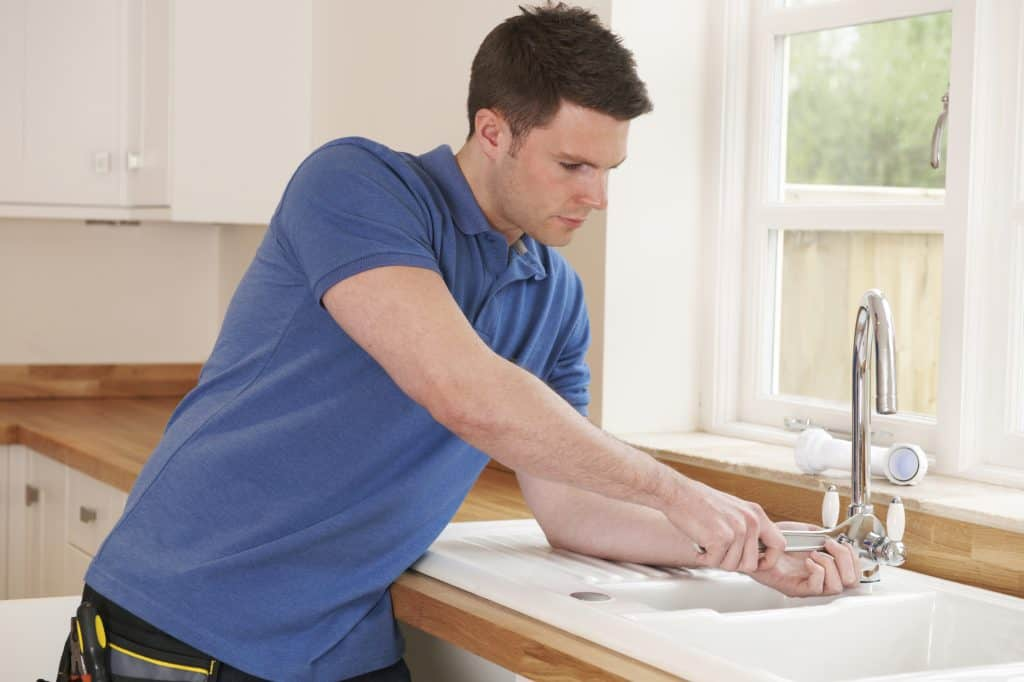 How To Remove Your Kitchen Faucet Without a Basin Wrench