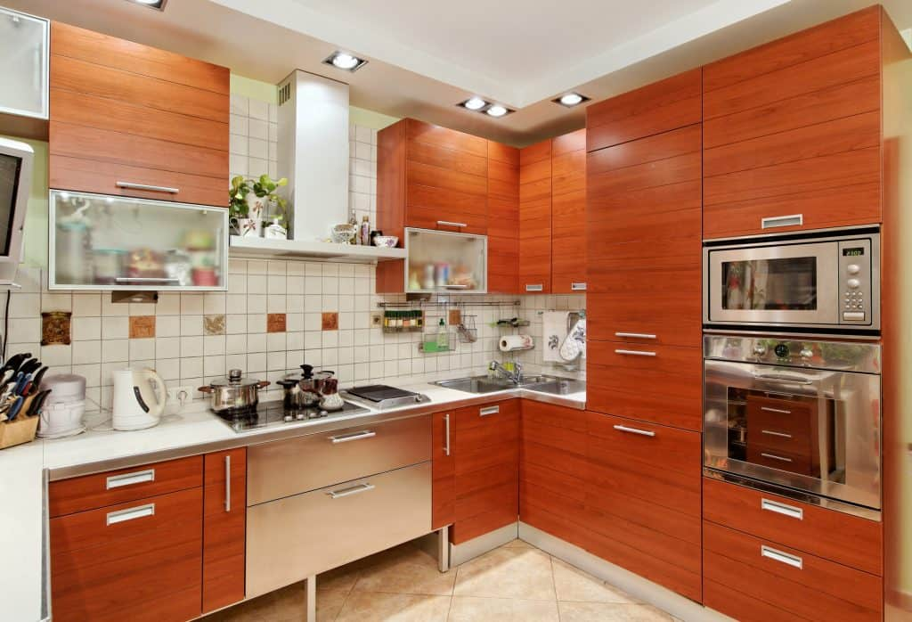 Kitchen Sink in Corner