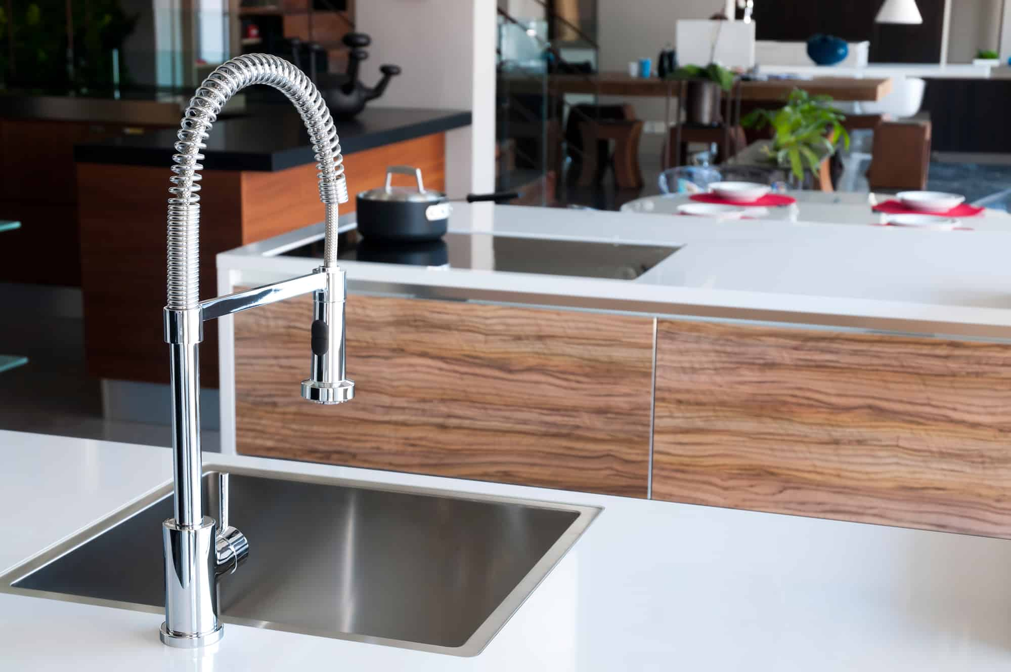 What Is a Pre-Rinse Kitchen Faucet