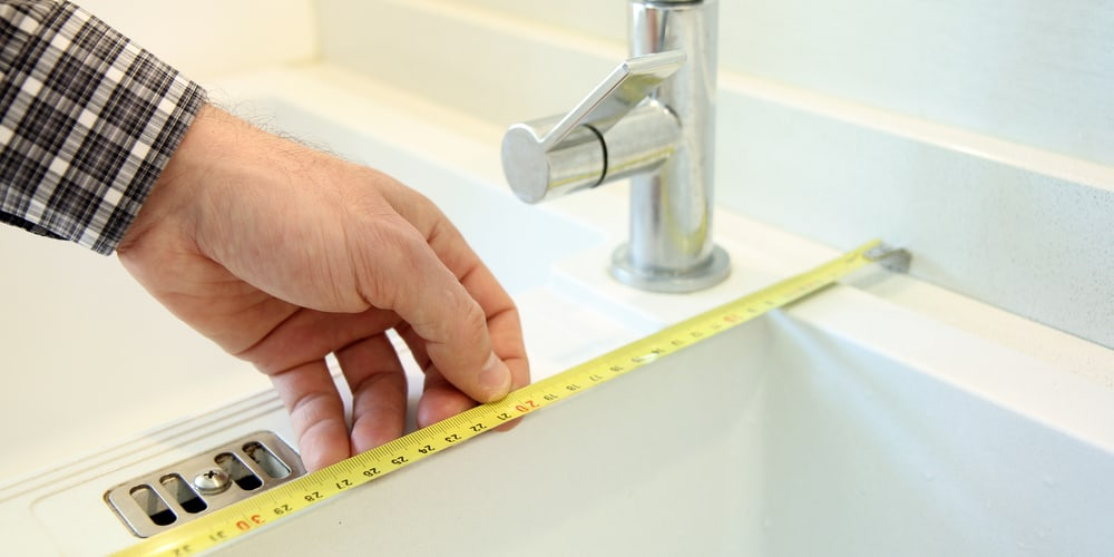 How To Take Measurements For a Sink Grid