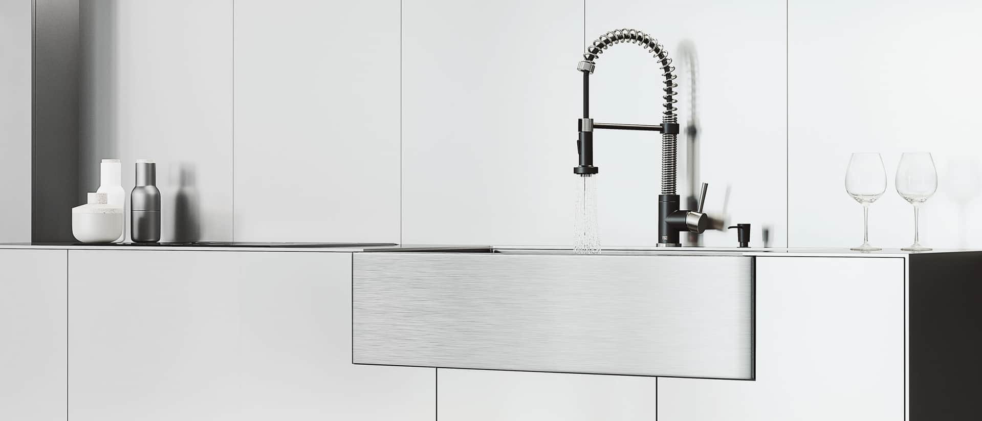 Vigo Kitchen Faucet and Sink